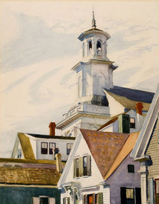 Edward Hopper, Provincetown Library