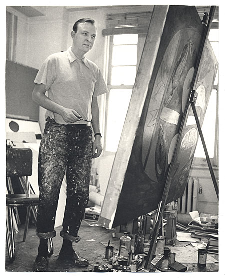 Robert Motherwell - studio